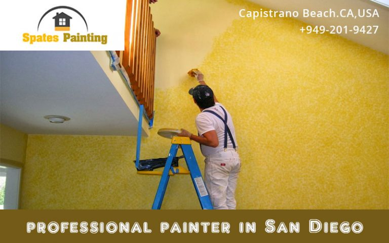 Easy Way To Get Paint A Bathroom By Professional Painter In San Diego